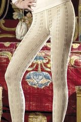 TRASPARENZE Cecile Tights Marone 2