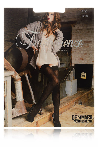 DENMARK Black Chevron Hold Ups