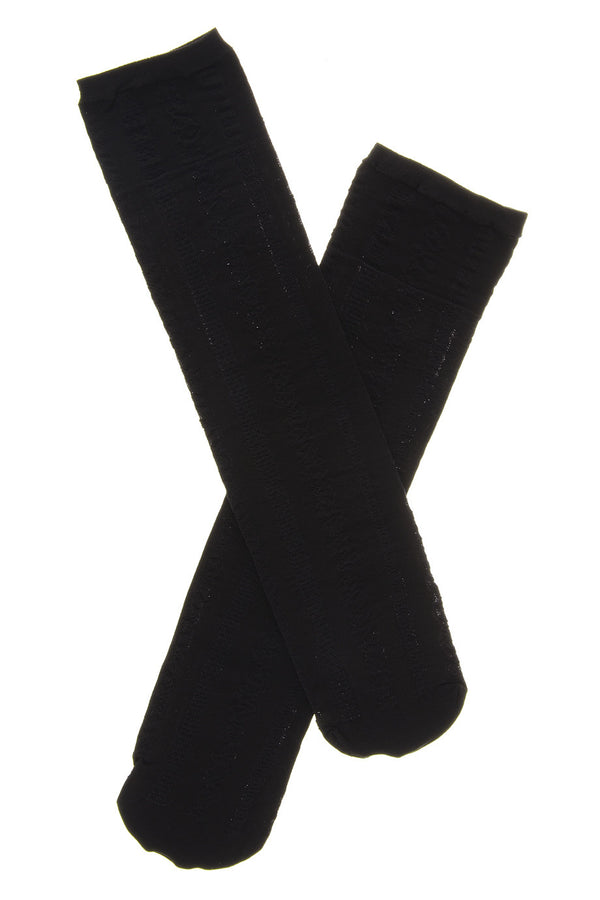TRASPARENZE FINLΑND Nero Knee Highs