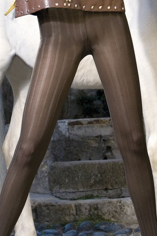 TRASPARENZE Ludivine Tights Prugna