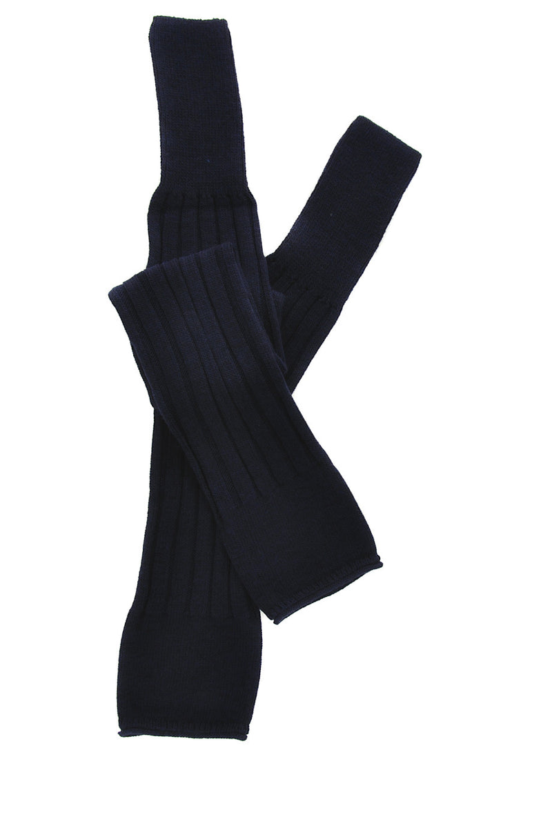 MADRID Dark Blue Legwarmers