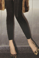TRASPARENZE NEW YORK Black Leggings