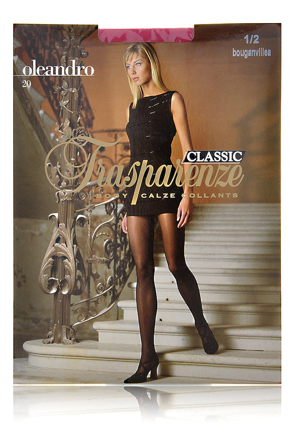TRASPARENZE OLEANDRO Sheer Tights Indaco Purple