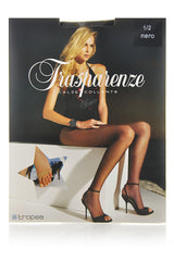 TRASPARENZE TROPEA Footless Black Tights