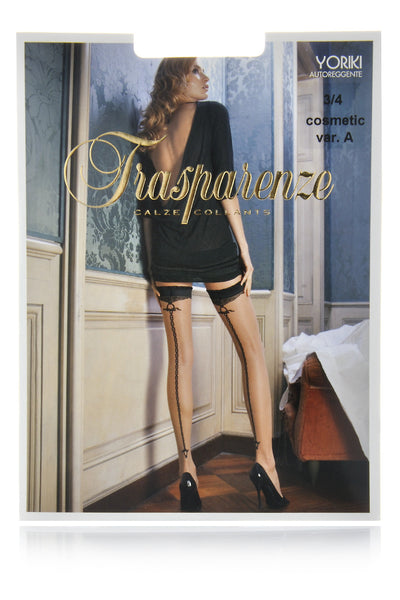 TRASPARENZE YORIKI Black Chain Hold Ups