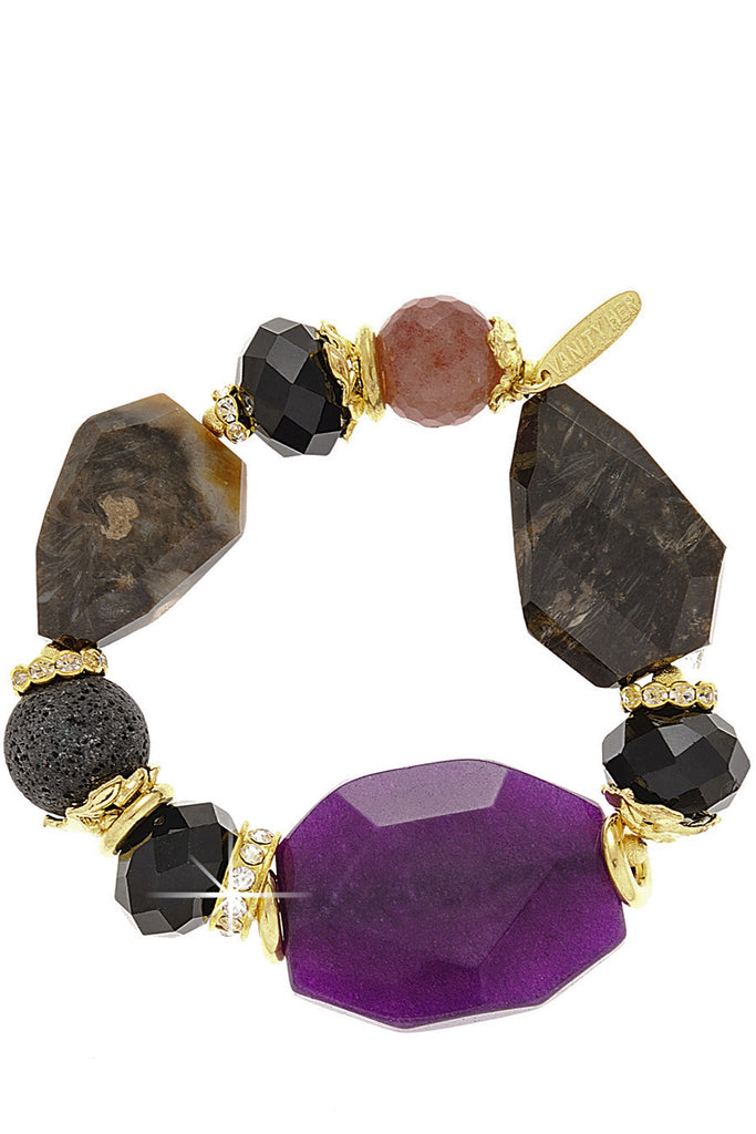 JASMIN Purple Bracelet