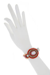 JENNIFER Red Crystal Bracelet