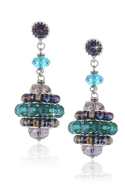 Joline Turquoise Beaded Earrings