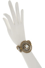 MEROLA Beige Bracelet with Beads