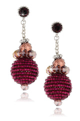 RAHEL Crystal Drop Earrings