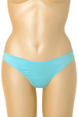 BABY BLUE Satin Thong