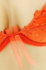 SAMBA Fluo Orange Bra