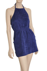 TWIST Royal Blue Cotton Dress