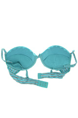 ALOE Turquoise Push Up Bra