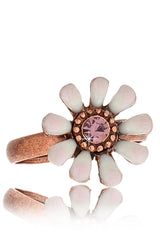 SAKURA White Flower Ring