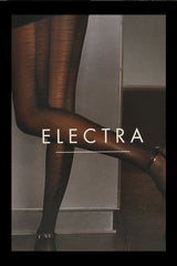 WOLFORD ELECTRA Black Seam Tights