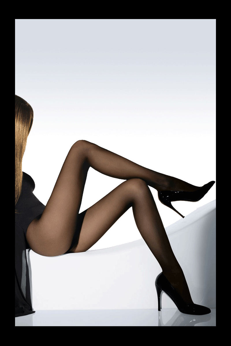 WOLFORD INDIVIDUAL 10 Sheer Beige Tights Gobi 4365