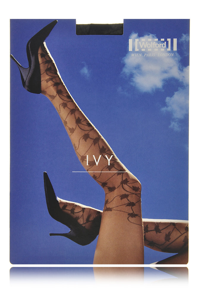 WOLFORD IVY Sheer Beige Maple Tights 4550