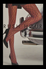 WOLFORD RUSH HOUR Diamond Sahara Black 9841 Tights