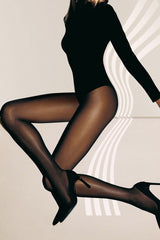 WOLFORD SYNERGY 40 Sheer Support Coca Tights 4023