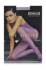 WOLFORD THE SIXTIES Net Lavender Tights 3784