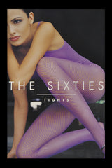 WOLFORD THE SIXTIES Net Rose Tights 3780
