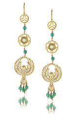 EAGLE Gold Earrings