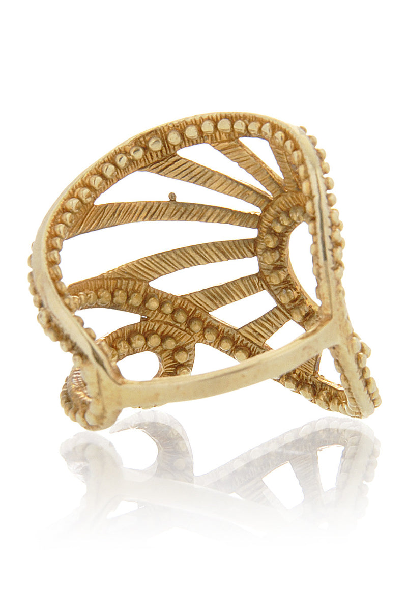 MANGO Gold Ancient Ring