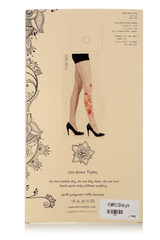 ZOHARA CARDS Beige Red Tights
