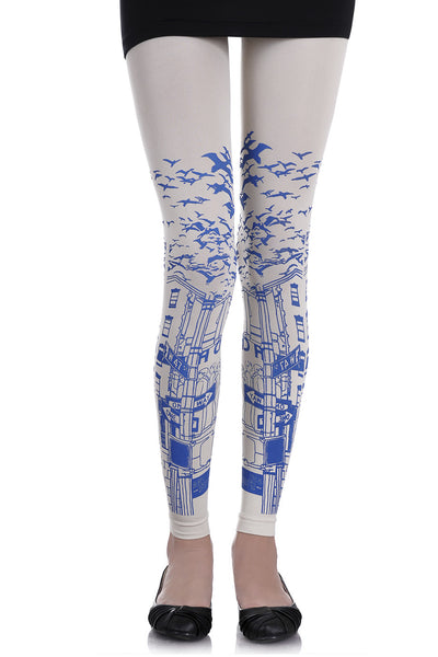 ZOHARA ONE WAY White Leggings