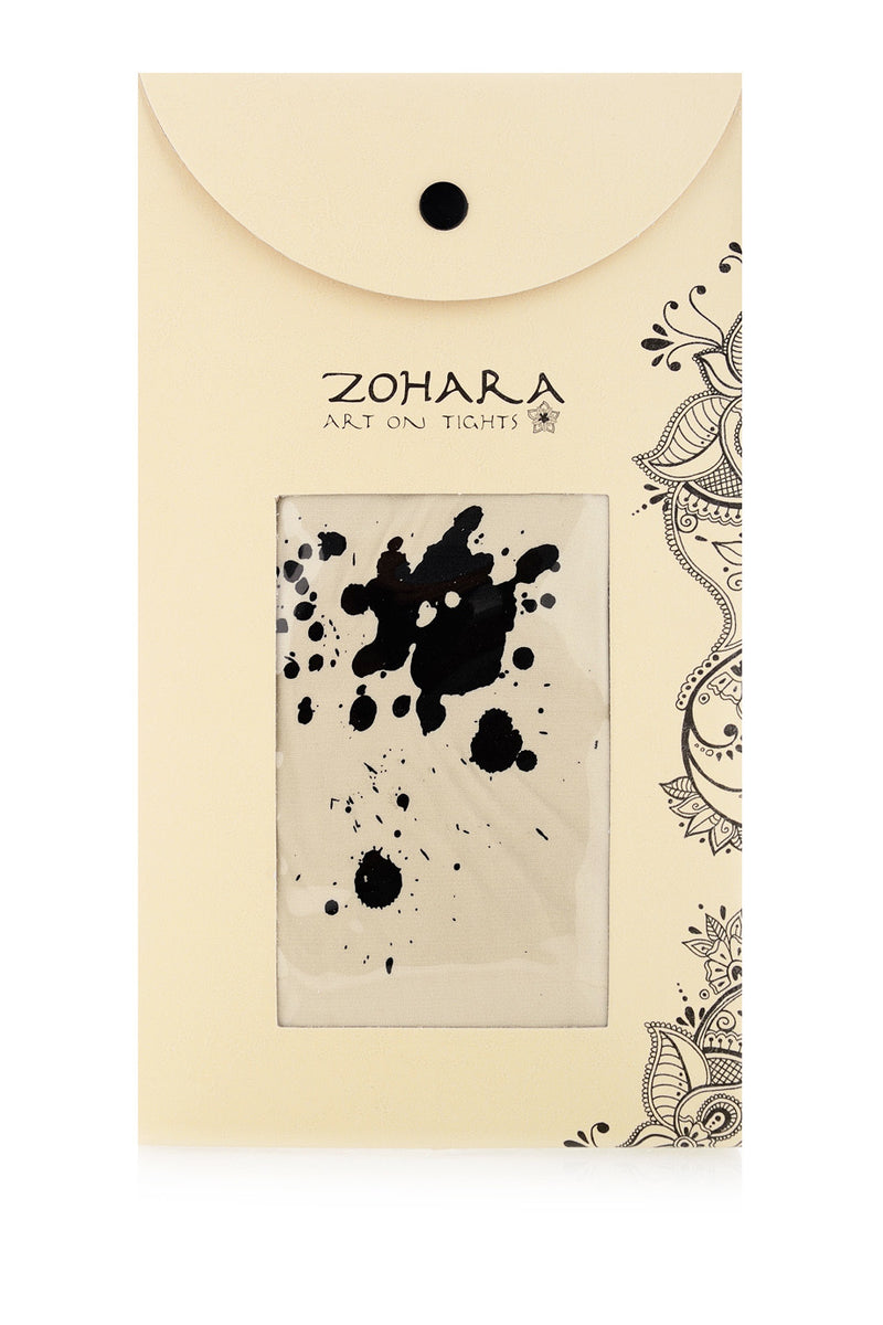ZOHARA SPLASH Beige Tights