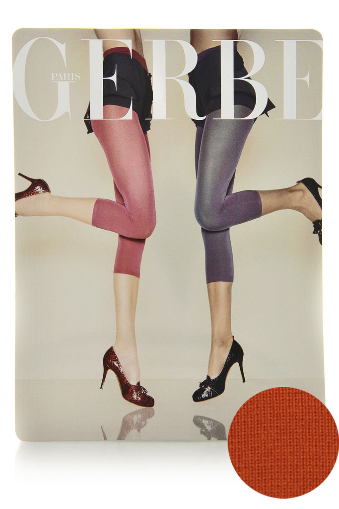 GERBE OPAQUE 70 Capri Paprika Leggings
