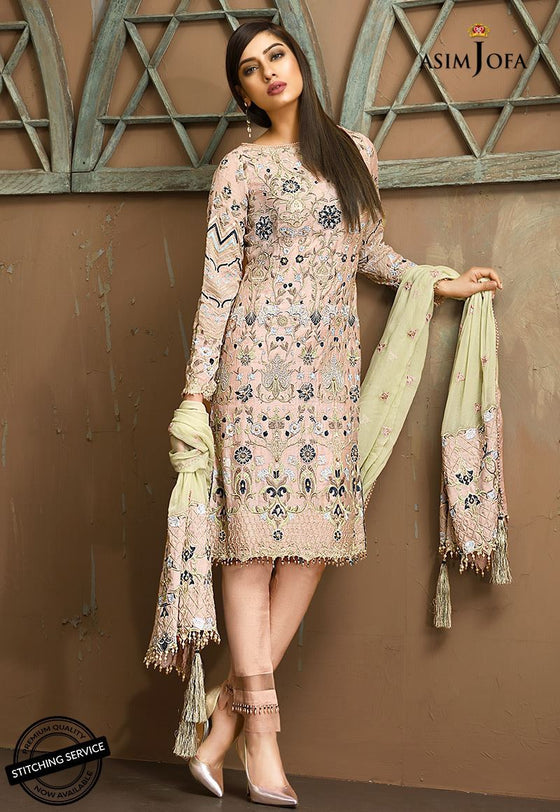 Asim Jofa - Aj04-B Eid Collection 2018