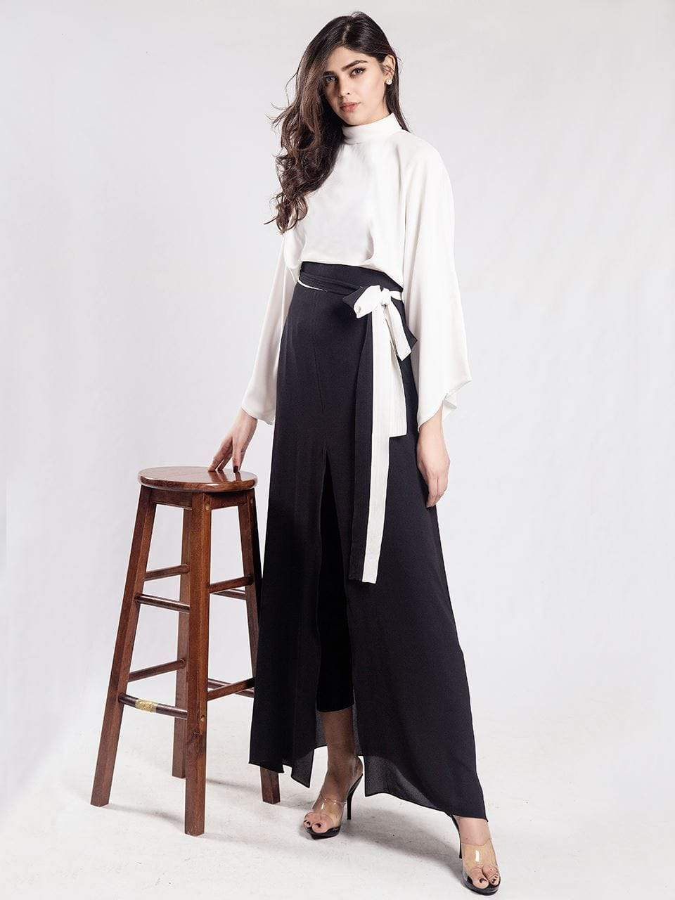 Natasha Kamal -  Marge Colour Block Kimono Maxi (one piece)