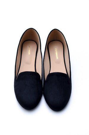 Step Up by JootiShooti - Classic Black Loafers