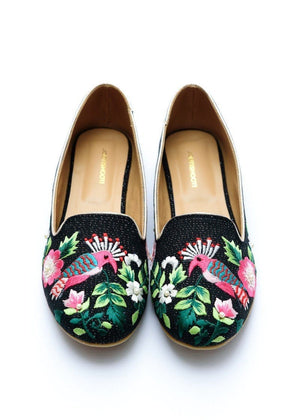 Step Up by JootiShooti - Black Coco Bay Loafers