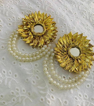 Hemo Handicraft - Gotta Pearl Earrings - 06_GP_E