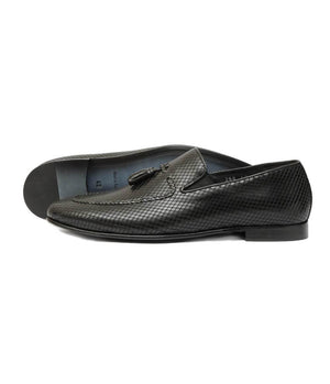Mochi Cordwainers - Black Tassle Loafers