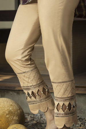 Zunn Fashion - Beige Pants - PD4