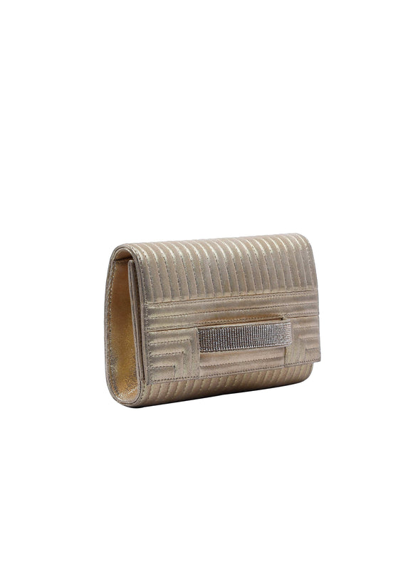 Julke - Gold Glitzer Clutch