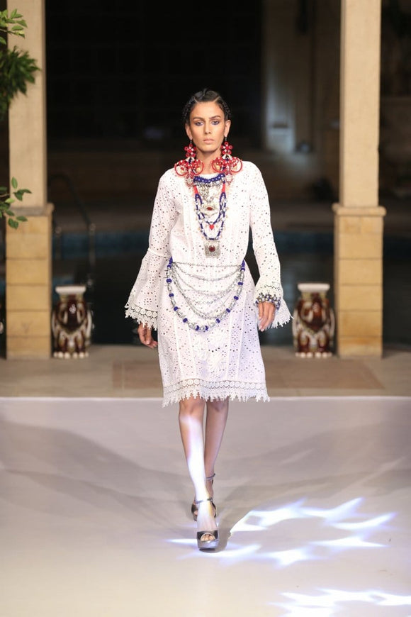 Huma Adnan - Chicken Summer Dress