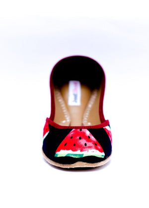JootiShooti - Watermelon Black (Limited Edition) Khussa
