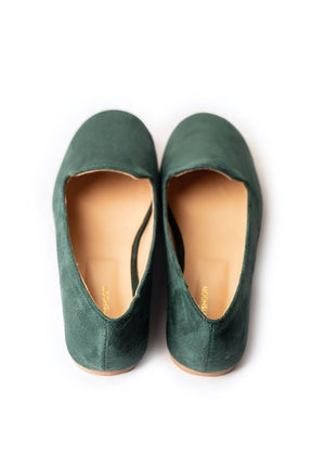JootiShooti - Forest Green Loafers