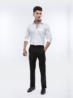 The Cress - White Premium Designer Formal Shirt