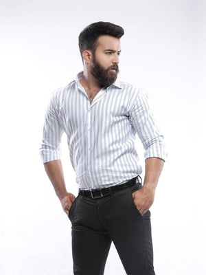 The Cress - Multi Striped Dress Shirt