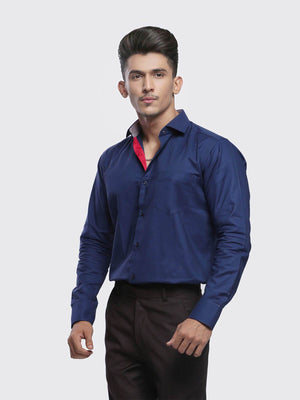 The Cress - Blue Semi-Formal Shirt