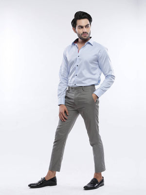 The Cress - Sky Blue Premium Semi-Formal Shirt