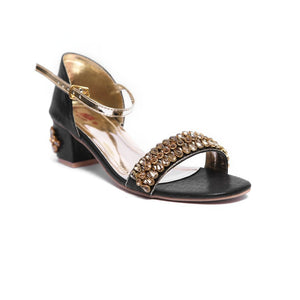Milli Shoes - Black Sandals - 3573