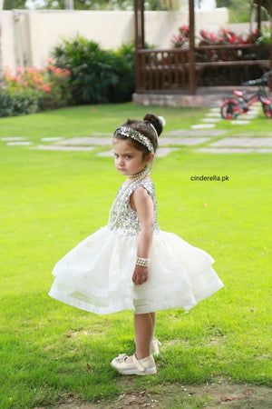 Cinderella - White Snow Fairy Dress