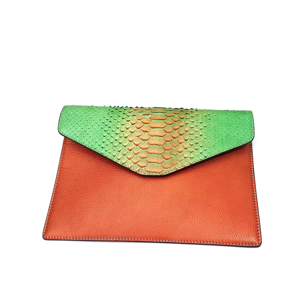 Amishi - Orange Envelope Bag